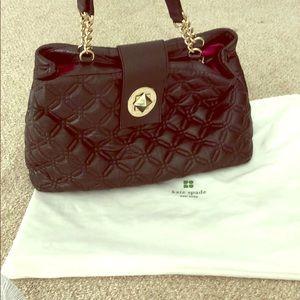 Black Kate Spade leather purse